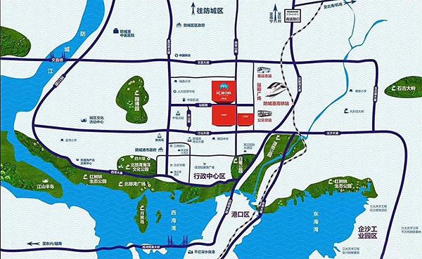 泰富汇通中心区位图