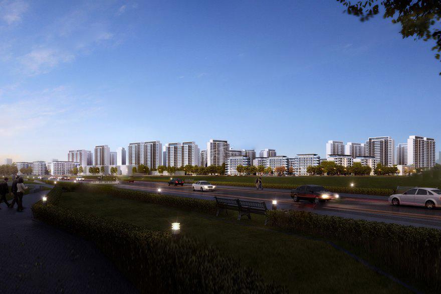 中国滇池花田国际度假区效果图