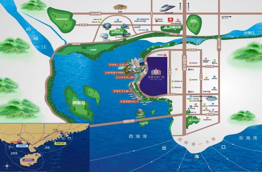 海都文化广场区位图