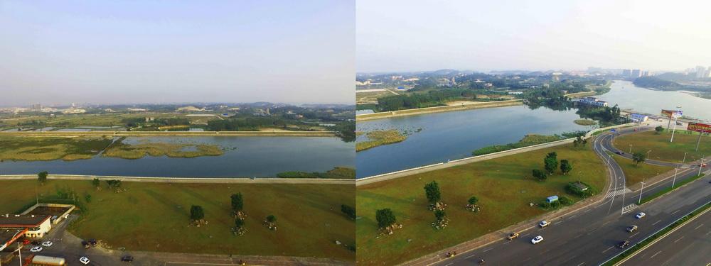沙潭江江滨湿地公园
