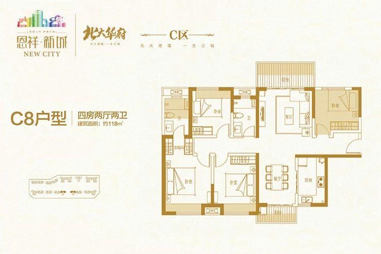 恩祥新城C8戶型