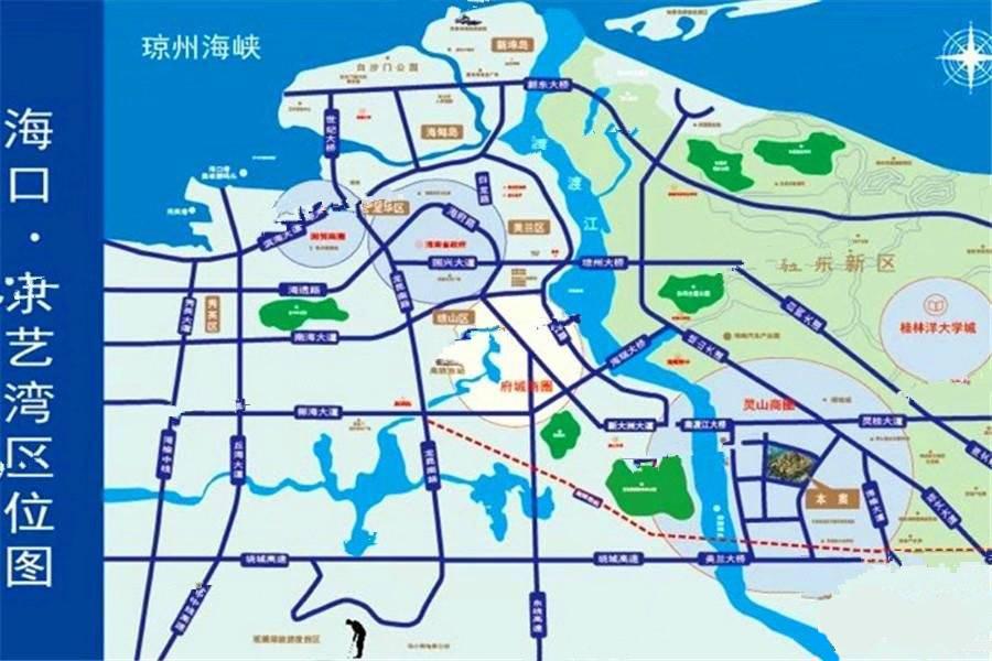 佳丰京艺湾交通图
