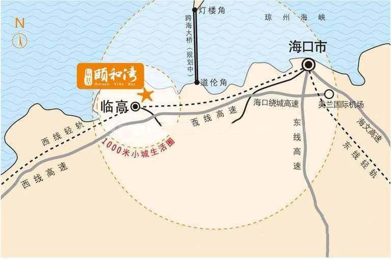 信基頤和灣交通圖