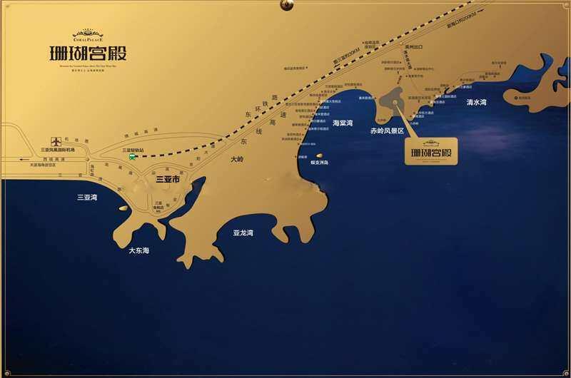 碧桂園珊瑚宮殿交通圖