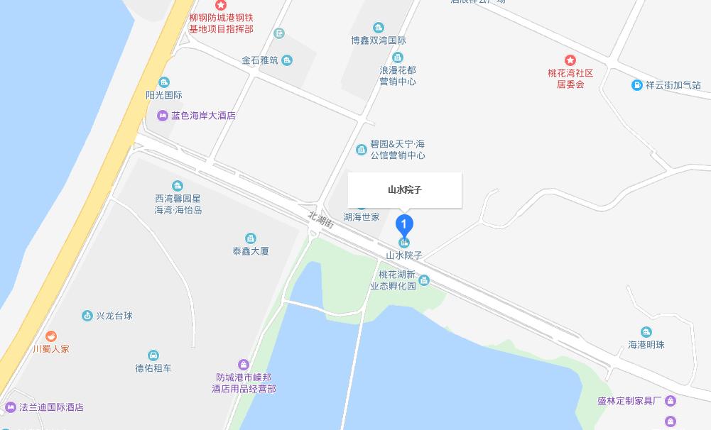 山水院子交通图