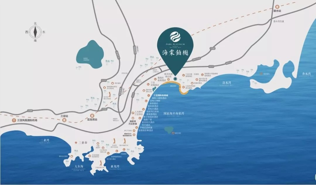 海棠铂樾区位图