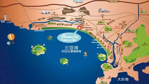 碧桂园海上大都会交通图