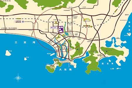 紫云阁花园区位图