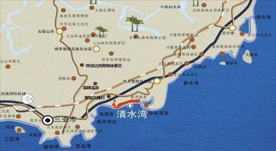 中信香水灣位置圖