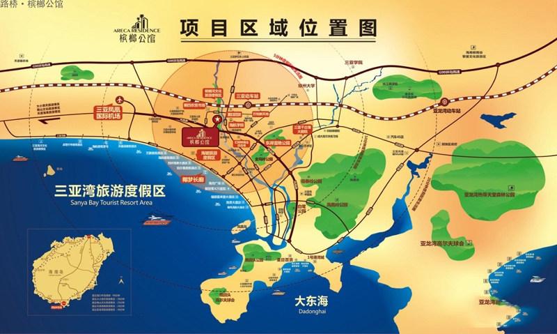 路桥槟榔公馆区位图