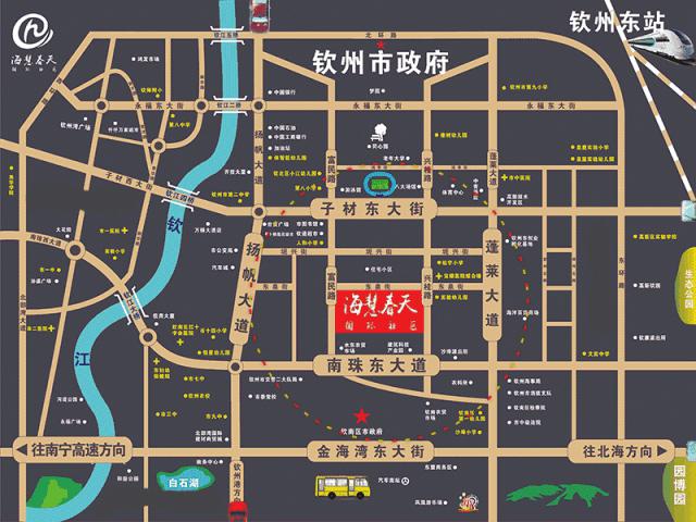 海慧春天国际社区区位图