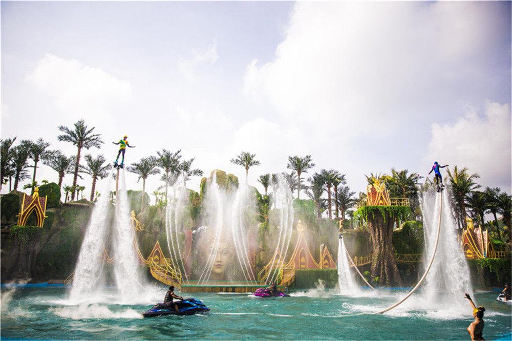 融创西双版纳旅游度假区实景图