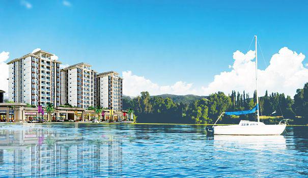 邵先生一家人到三亚看房 顺利置业路桥槟榔公馆