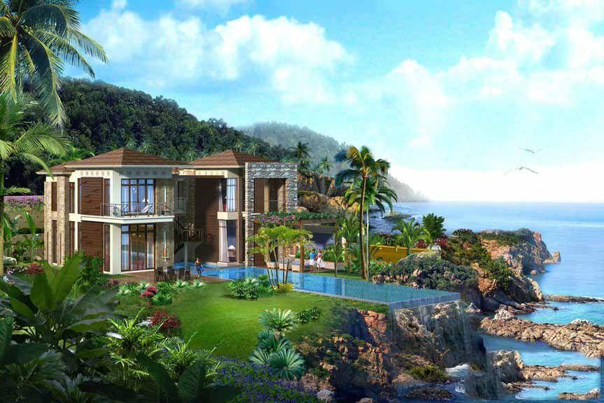 华凯南燕湾 享山海美景 目前别墅在售 总价680万/套起!