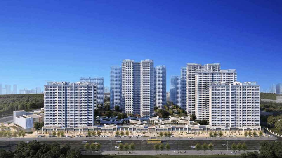 北投观海湾宜居的康养智慧大城,主推建筑面积约44-83㎡