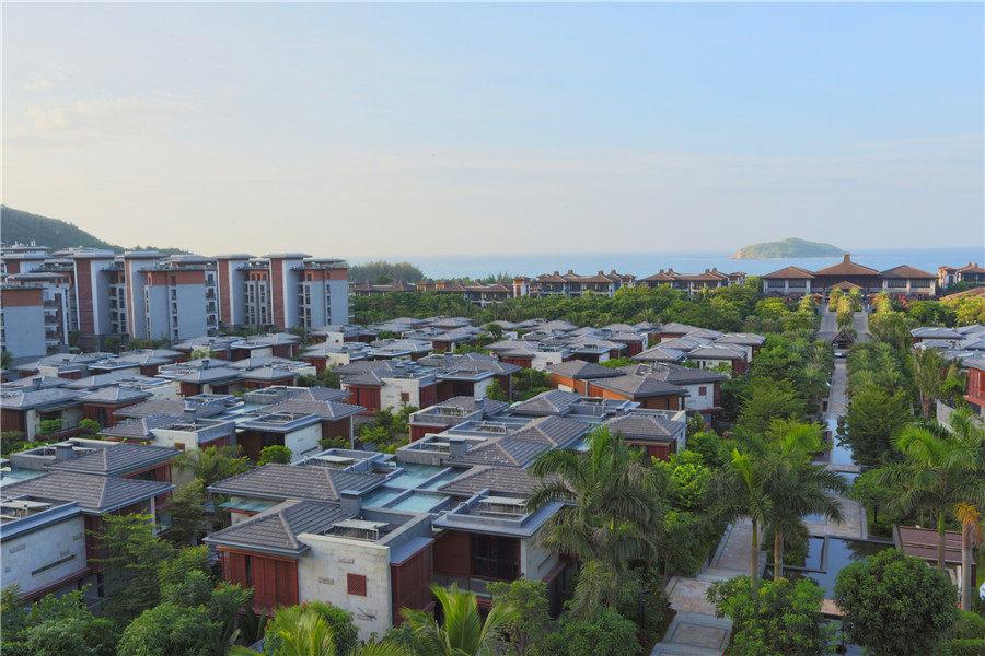 蔡叔叔买到万宁华润石梅湾九里适合养老度假的海景房
