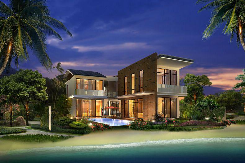 合景汀澜海岸 海边院子 享受大海与沙滩 均价25000元/㎡