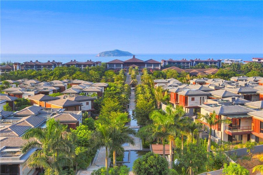 华润石梅湾九里 预计2020年三期5#交房 均价21000元/㎡