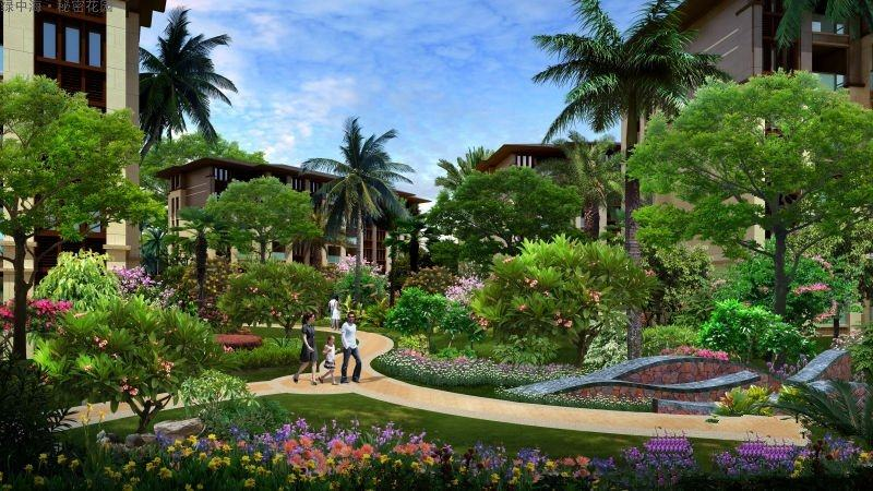 绿中海 生态宜居 品质筑家 您的城市花园