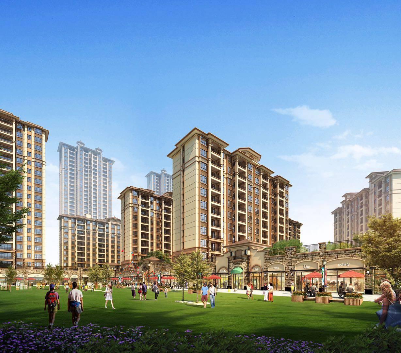 融创微风十里 高绿化品质住宅 洋房产品均价约8500元/㎡!