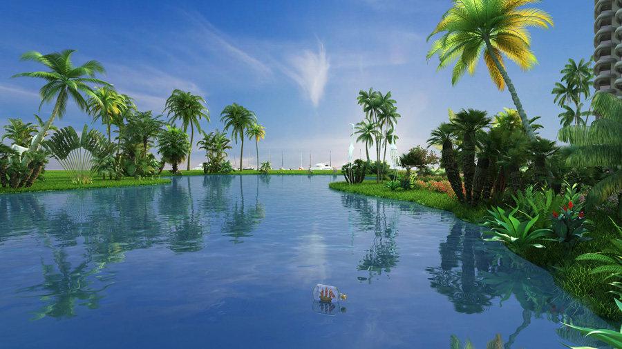 评析·清凤海棠长滩:在此与碧海蓝天相伴,清风绿意共生