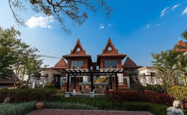 西双版纳勐巴拉雨林小镇洋房、别墅在售 总价43万/套