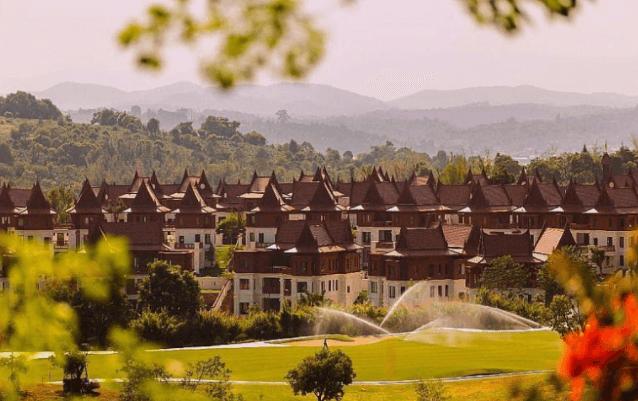 西双版纳勐巴拉雨林小镇总价130万/套起 有独栋、双拼两种类型