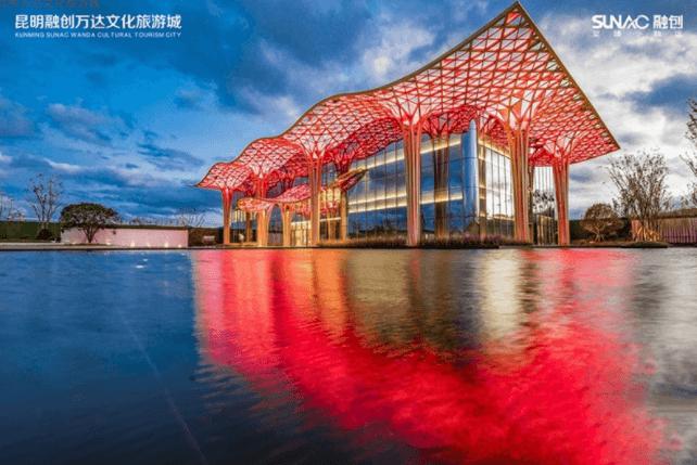 融创万达文化旅游城三层东方府邸在售 坐北朝南设计