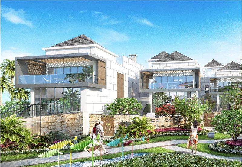 三亚清凤海棠长滩社区采用双公园设计  约800万/套