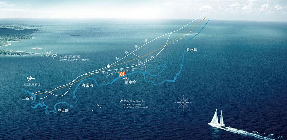 阿罗哈檀香海居交通图
